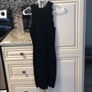 Bebe Black sleeveless dress